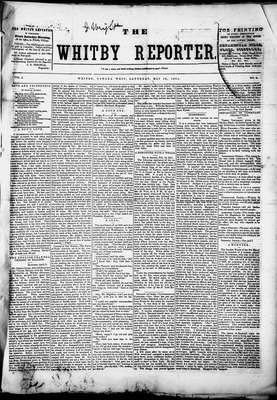 Whitby Reporter, 10 May 1851
