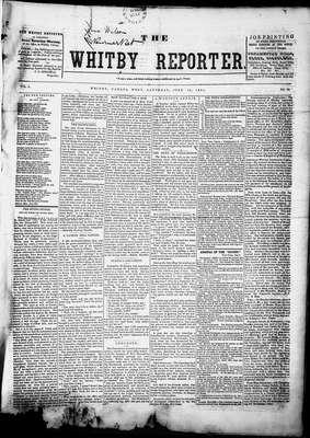 Whitby Reporter, 12 Jul 1851