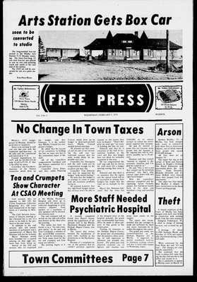 Whitby Free Press, 5 Feb 1975