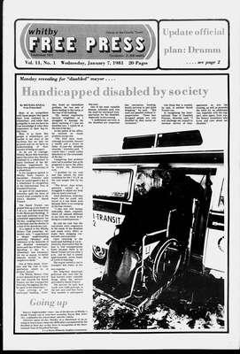 Whitby Free Press, 7 Jan 1981