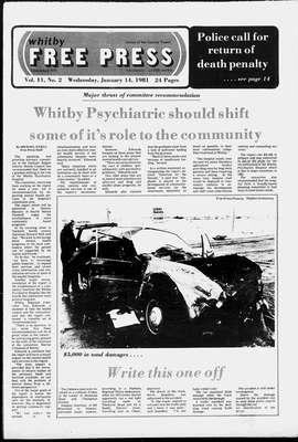 Whitby Free Press, 14 Jan 1981