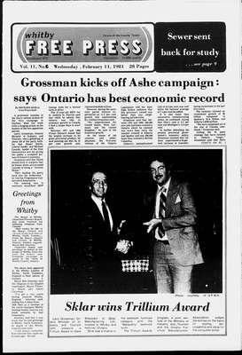 Whitby Free Press, 11 Feb 1981
