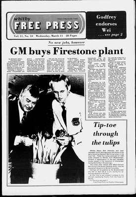 Whitby Free Press, 11 Mar 1981