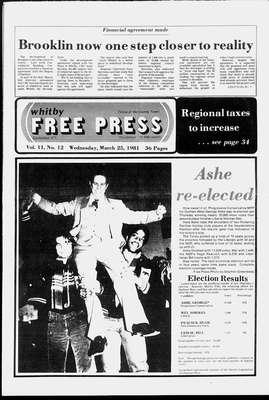Whitby Free Press, 25 Mar 1981