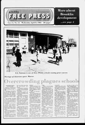 Whitby Free Press, 8 Apr 1981