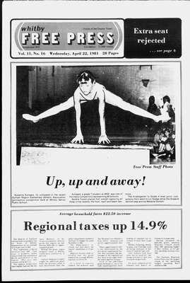 Whitby Free Press, 22 Apr 1981