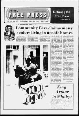 Whitby Free Press, 29 Apr 1981