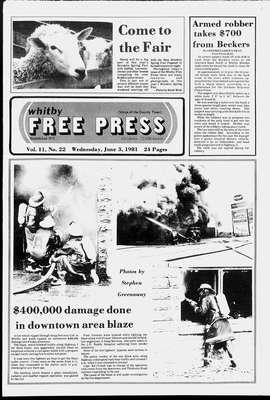 Whitby Free Press, 3 Jun 1981