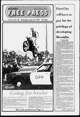 Whitby Free Press, 10 Jun 1981