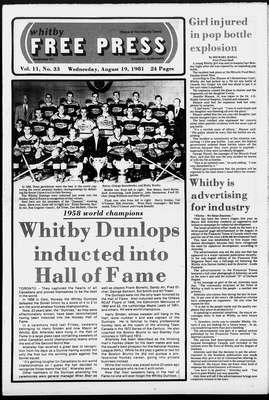 Whitby Free Press, 19 Aug 1981