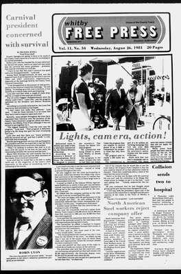 Whitby Free Press, 26 Aug 1981