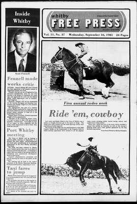 Whitby Free Press, 16 Sep 1981