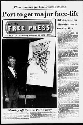 Whitby Free Press, 23 Sep 1981