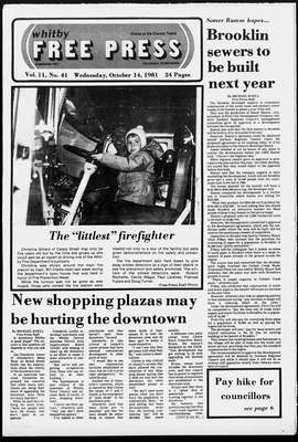 Whitby Free Press, 14 Oct 1981