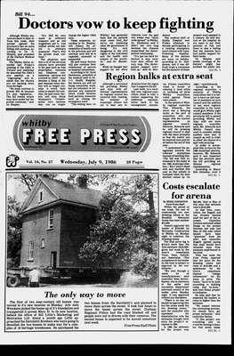 Whitby Free Press, 9 Jul 1986