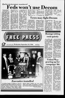 Whitby Free Press, 10 Sep 1986