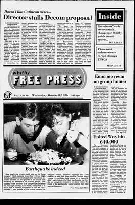 Whitby Free Press, 8 Oct 1986