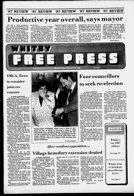 Whitby Free Press, 6 Jan 1988