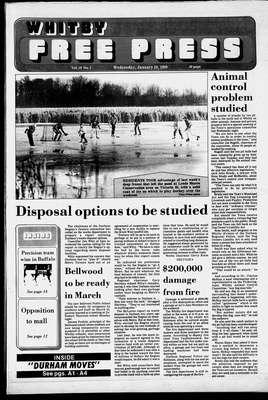 Whitby Free Press, 20 Jan 1988