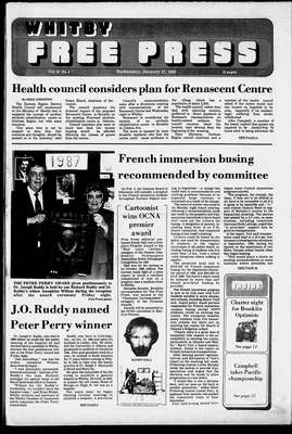 Whitby Free Press, 27 Jan 1988