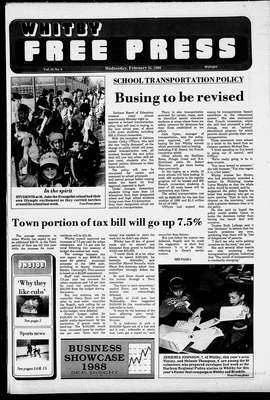 Whitby Free Press, 24 Feb 1988