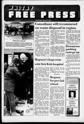 Whitby Free Press, 2 Mar 1988