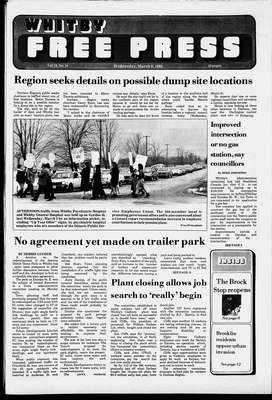 Whitby Free Press, 9 Mar 1988