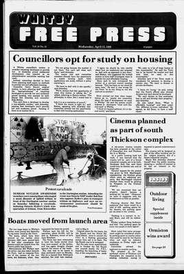 Whitby Free Press, 13 Apr 1988