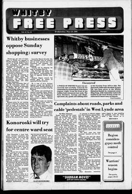 Whitby Free Press, 18 May 1988