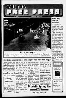 Whitby Free Press, 1 Jun 1988