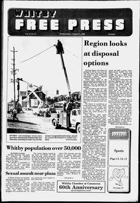 Whitby Free Press, 3 Aug 1988