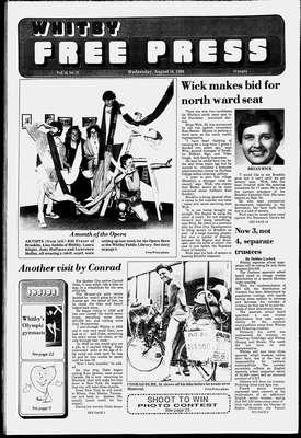 Whitby Free Press, 10 Aug 1988