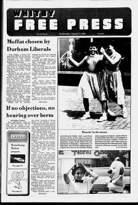 Whitby Free Press, 17 Aug 1988