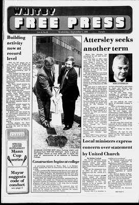 Whitby Free Press, 7 Sep 1988