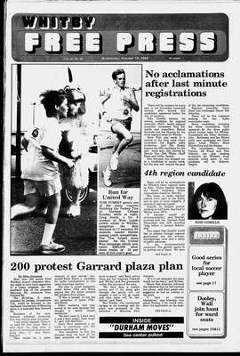 Whitby Free Press, 19 Oct 1988