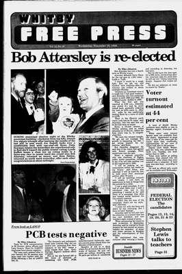 Whitby Free Press, 16 Nov 1988