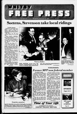 Whitby Free Press, 23 Nov 1988