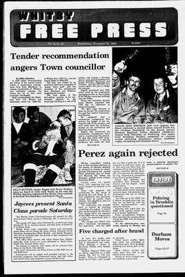 Whitby Free Press, 30 Nov 1988