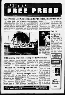 Whitby Free Press, 7 Dec 1988