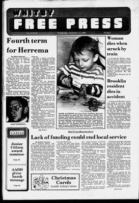 Whitby Free Press, 14 Dec 1988