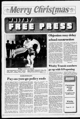 Whitby Free Press, 21 Dec 1988