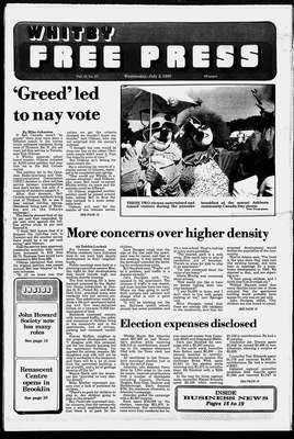 Whitby Free Press, 5 Jul 1989