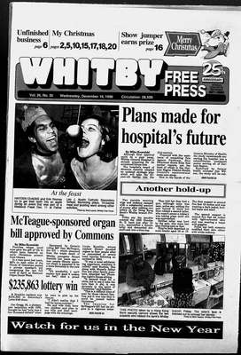 Whitby Free Press, 18 Dec 1996
