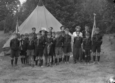 Whitby Cub Pack, August 9, 1950