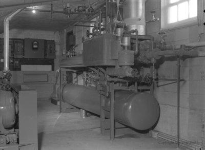 Inside Whitby Community Arena, February 26, 1955