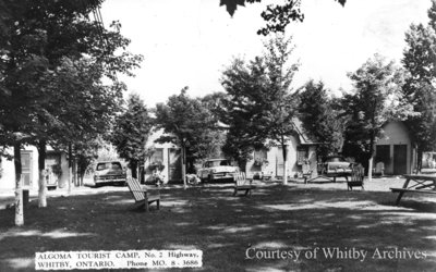 Algoma Tourist Camp, c.1957