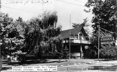 Algoma Tourist Camp, c.1957