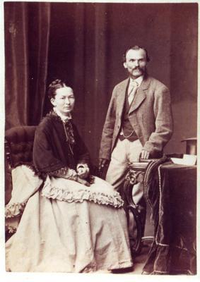 Augustus and Sarah Barrett