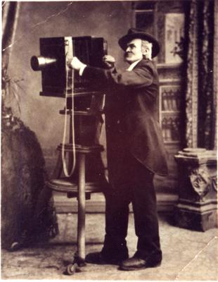 Augustus Barrett, ca. 1885
