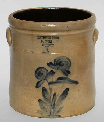 Mathison Brothers Butter Crock